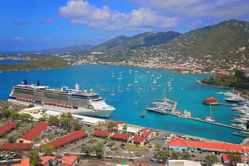Saint-Vincent e crociera caraibica fotografie stock