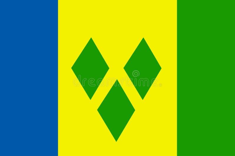 Saint Vincent and Grenadines royalty free illustration