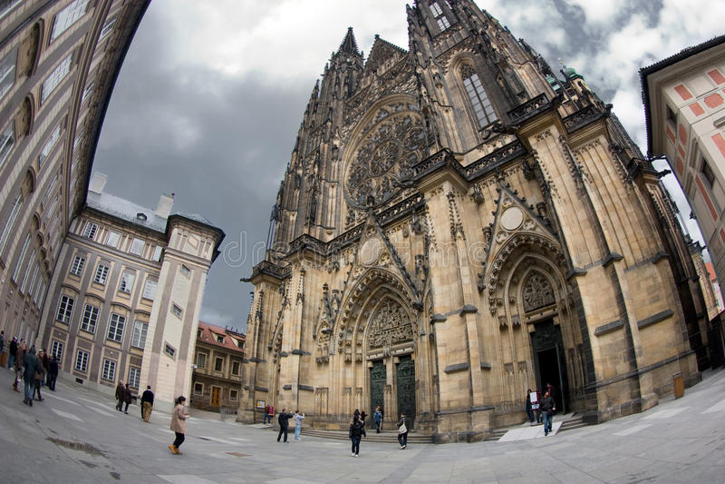 Saint Vitus's Cathedral royalty free stock photos