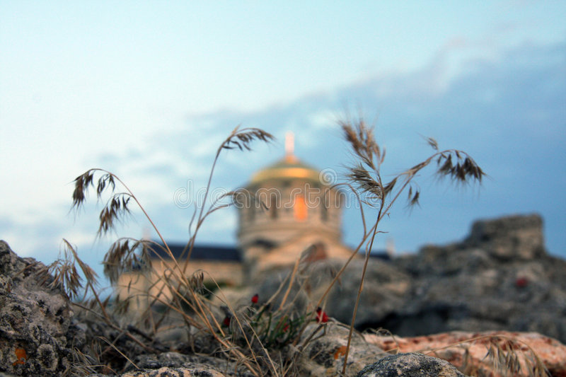 Saint-Vladimir Cathedral in Hersones royalty free stock photos