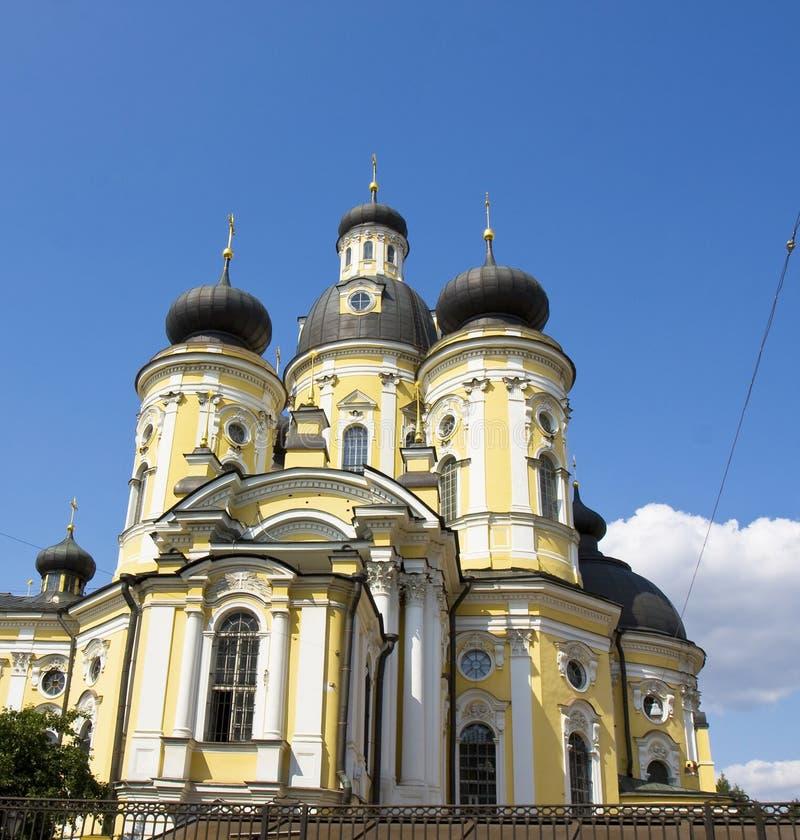 Saint Vladimir cathedral in St. Petersburg royalty free stock photos