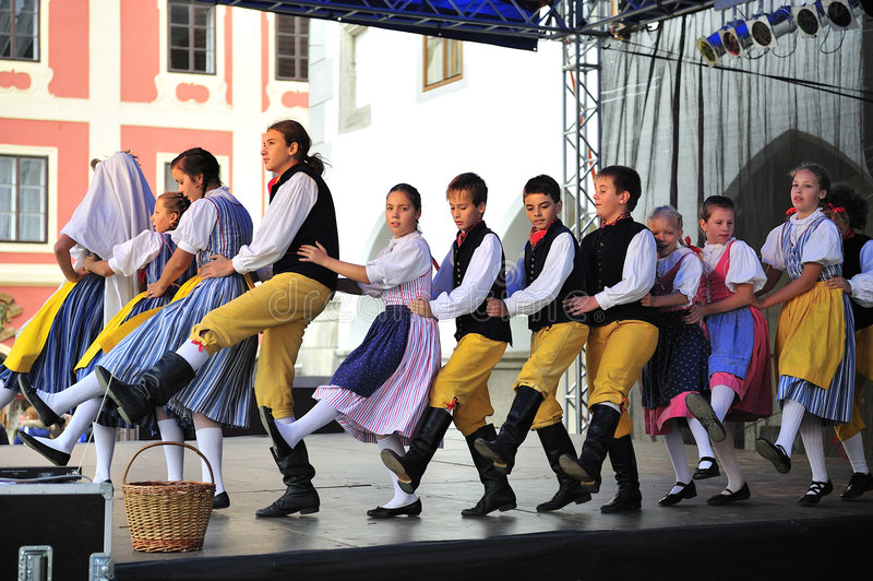 Download Saint Wenceslas Celebrations In Cesky Krumlov Editorial Photography - Image: 7857767