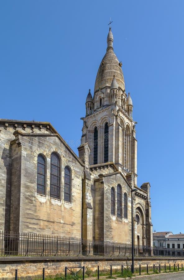 Sainte玛丽de la Bastide,Bordeuax,法国教会  库存照片