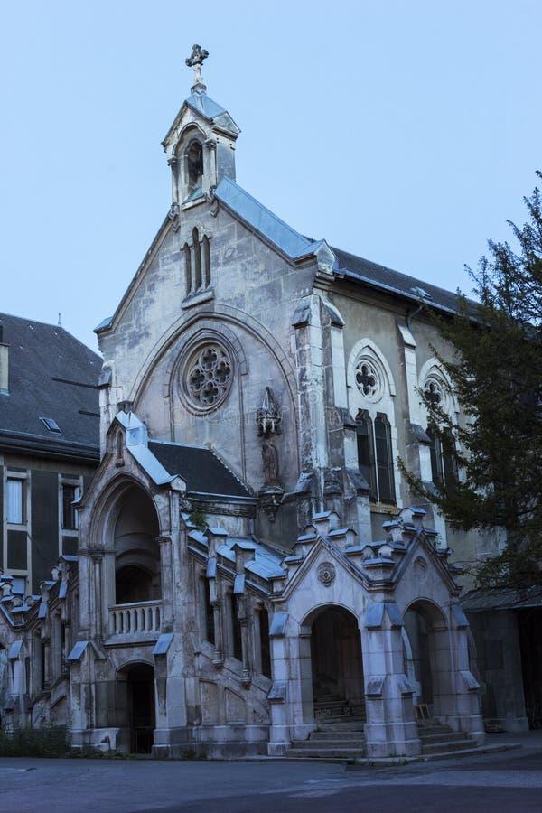Sainte-Chapelle στο Τσάμπερυ, Γαλλία στοκ φωτογραφία με δικαίωμα ελεύθερης χρήσης