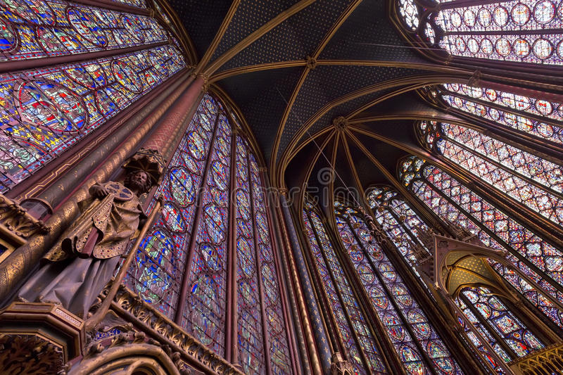 Sainte Chapelle fotografia royalty free