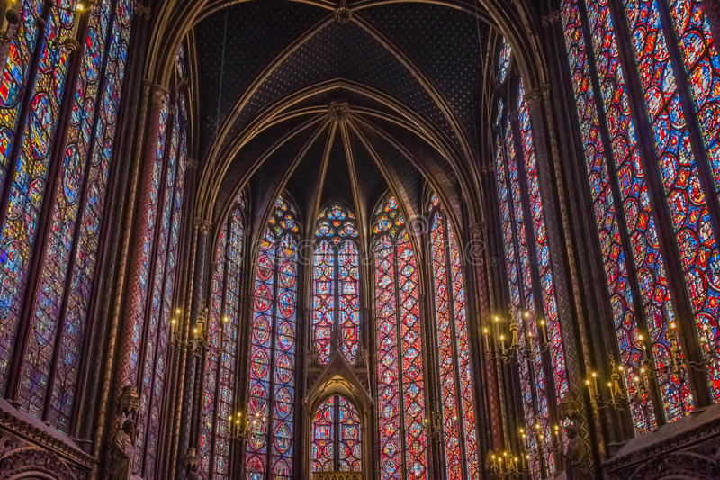 Sainte Chapelle photographie stock libre de droits