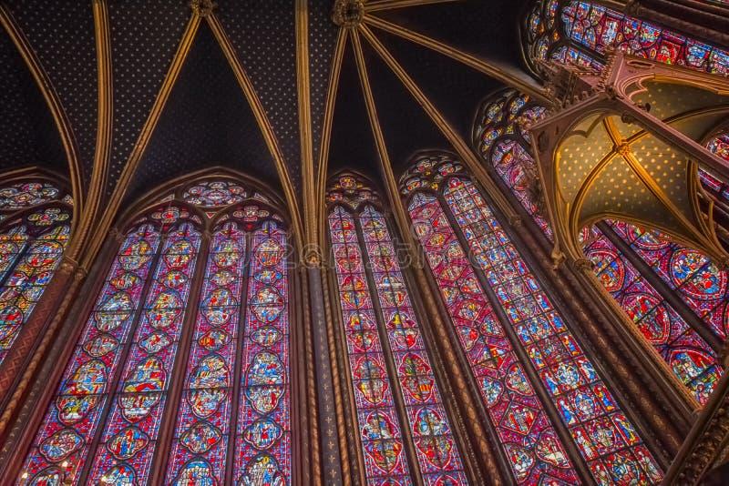 Sainte Chapelle image stock