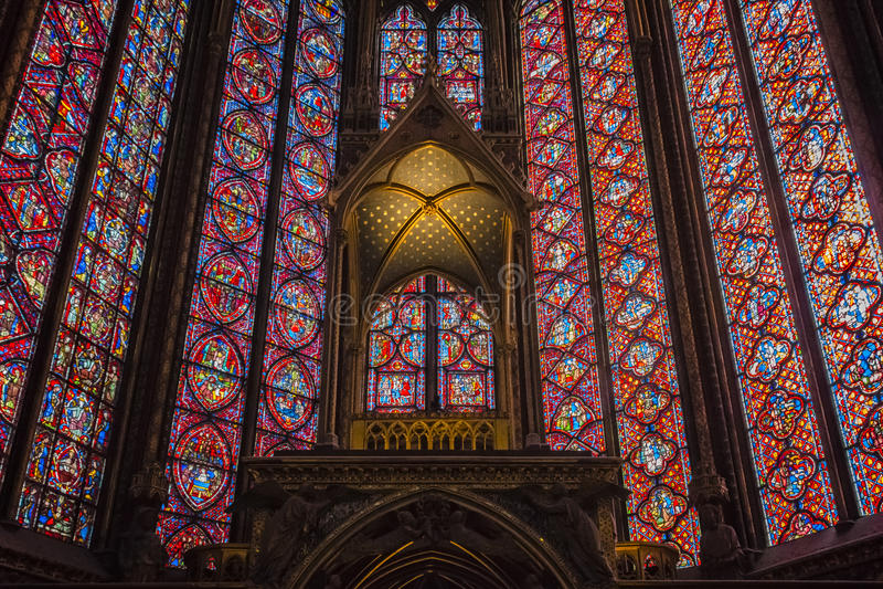 Sainte Chapelle photos libres de droits