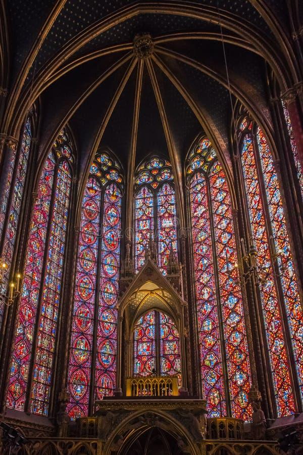 Sainte Chapelle photographie stock