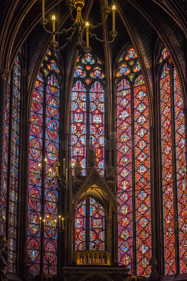 Sainte Chapelle photos stock