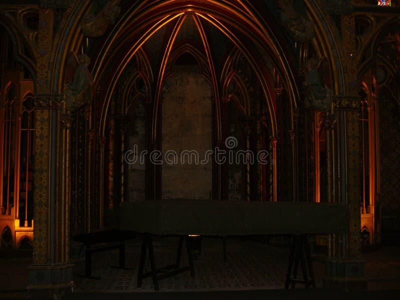 Sainte-Chapelle στοκ εικόνα