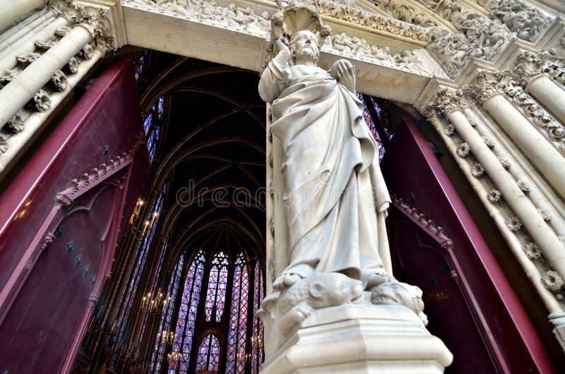Download Sainte Chapelle Over De Deuren Redactionele Afbeelding - Afbeelding bestaande uit frankrijk, decoratie: 114226540