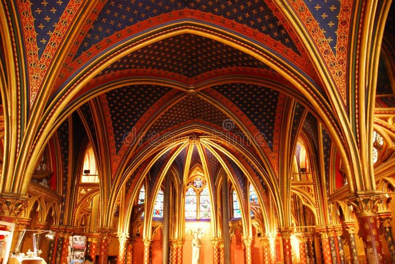 Sainte Chapelle Paris royalty free stock images