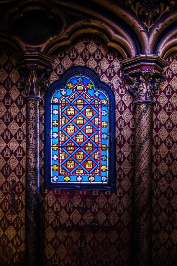 Sainte-Chapelle, Paris, France photos stock