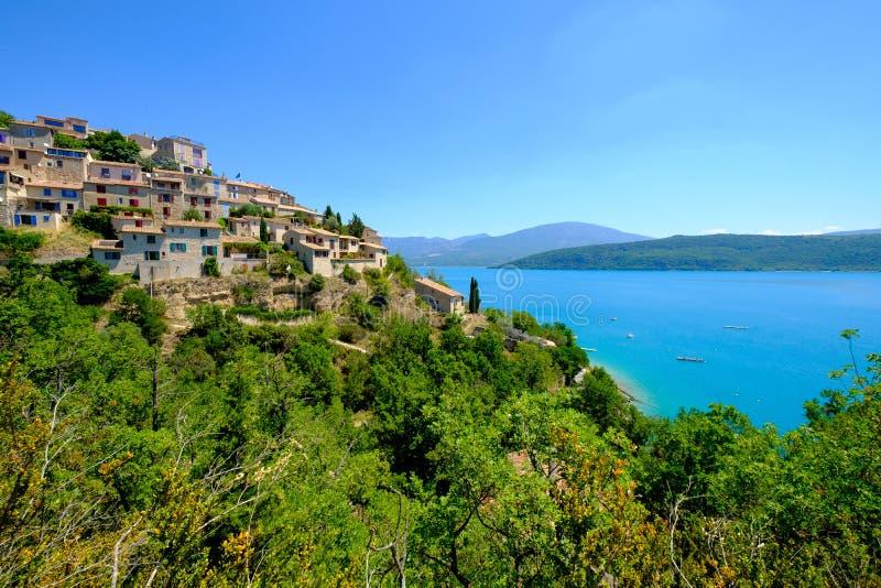 Sainte Croix du Verdon Προβηγκία, Alpes, Γαλλία στοκ εικόνες με δικαίωμα ελεύθερης χρήσης