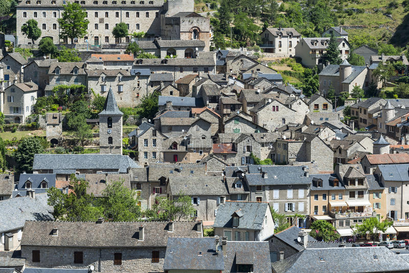 Download Sainte-Enimie, Gorges Du Tarn Stock Image - Image: 34549097
