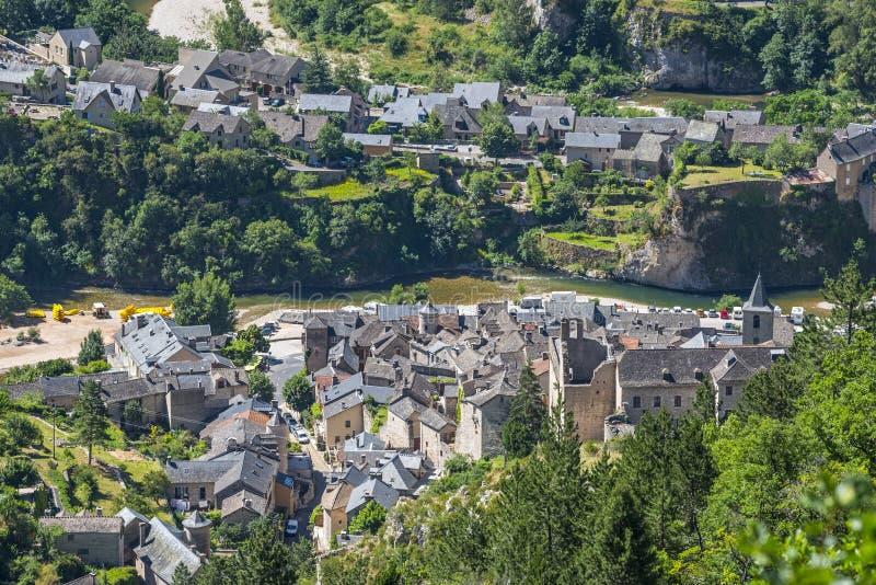 Download Sainte-Enimie, Gorges Du Tarn Stock Photo - Image: 34777642