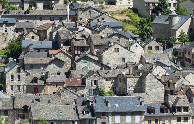 Download Sainte-Enimie, Gorges Du Tarn Royalty Free Stock Images - Image: 34957449