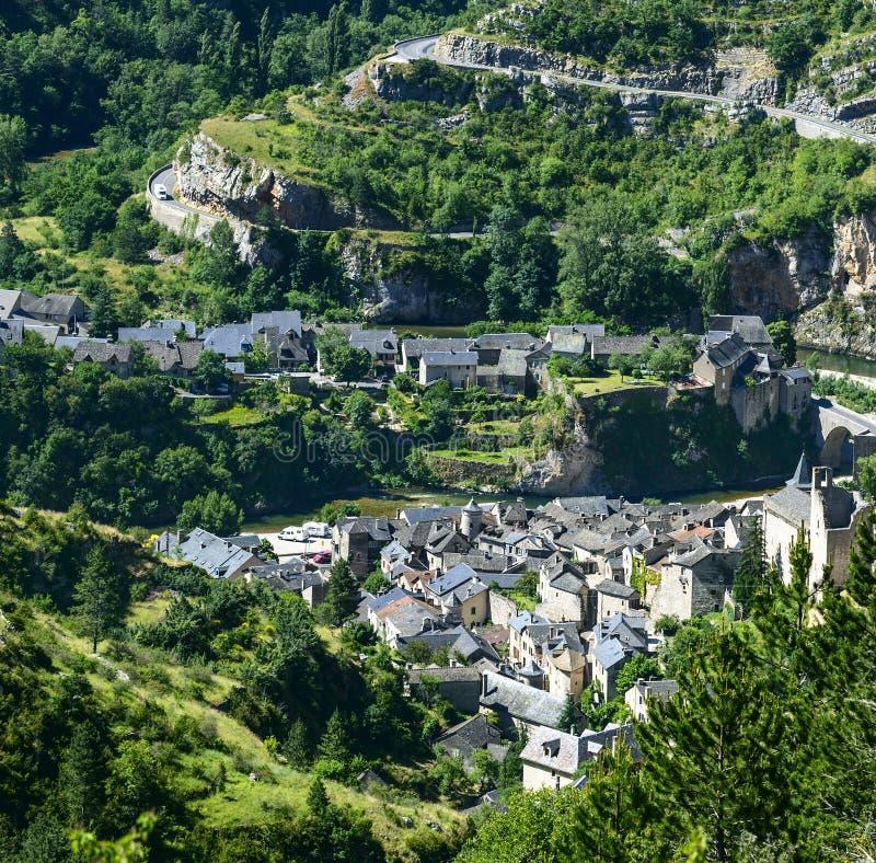 Download Sainte-Enimie, Gorges Du Tarn Stock Image - Image: 35429793