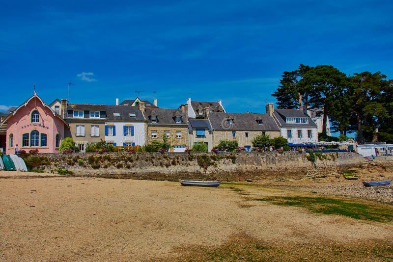 Sainte-flotta strand arkivfoton