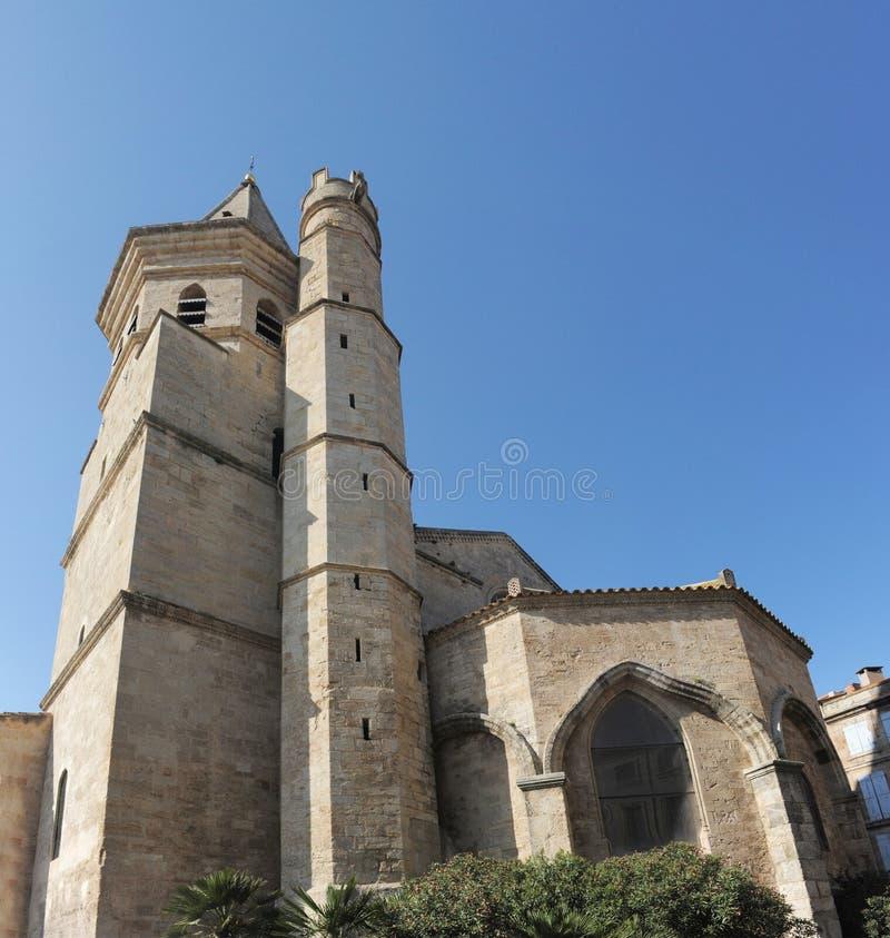 Sainte Madeleine Church, Beziers Royalty Free Stock Photo
