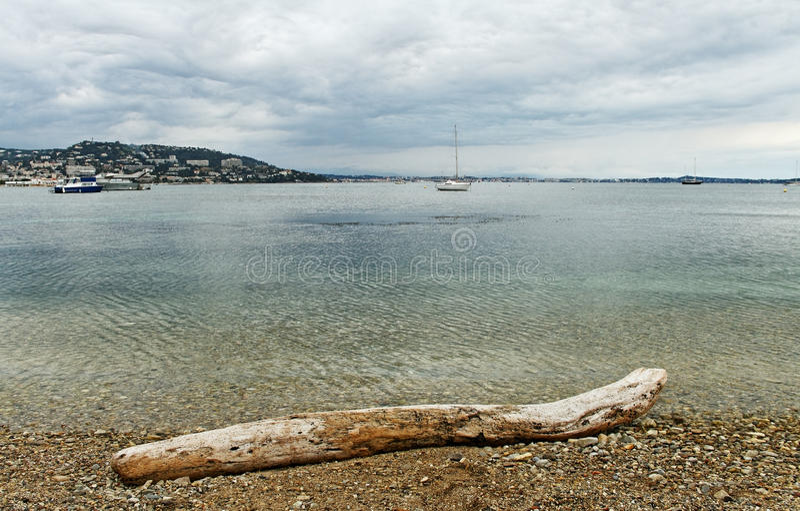 Sainte-Margurite海岸。 库存图片