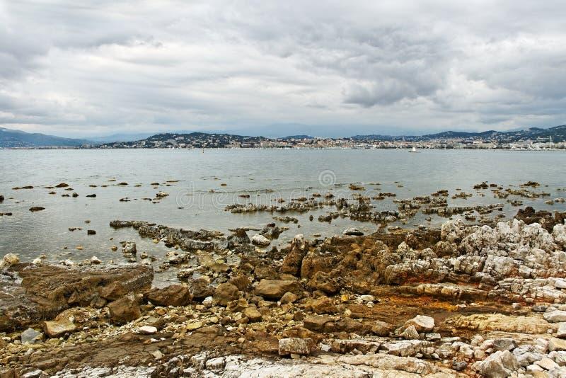 Sainte-Margurite海岸。 免版税图库摄影