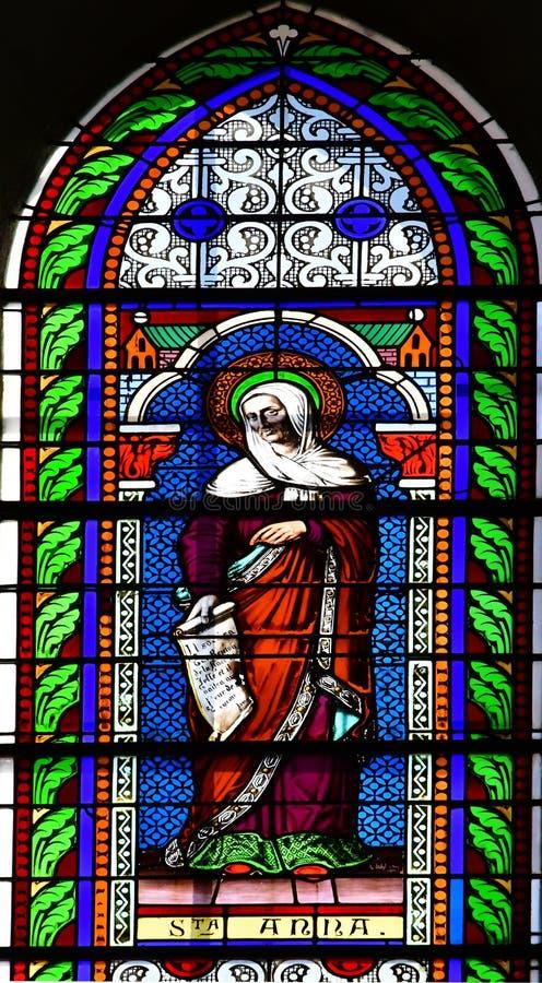 Sainte Marie de Re, France - 25 septembre 2016 : Chur de Notre Dame photo libre de droits