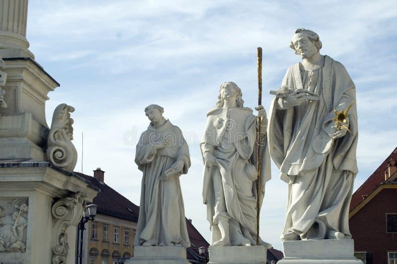 saints royaltyfri bild