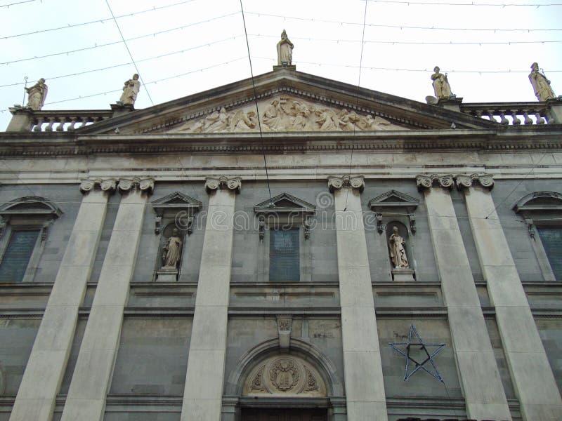 Saints of Ireland on Church royalty free stock image
