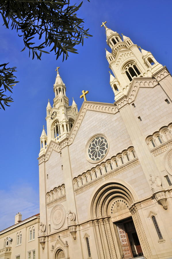 saints san francisco Паыля peter церков стоковые фото
