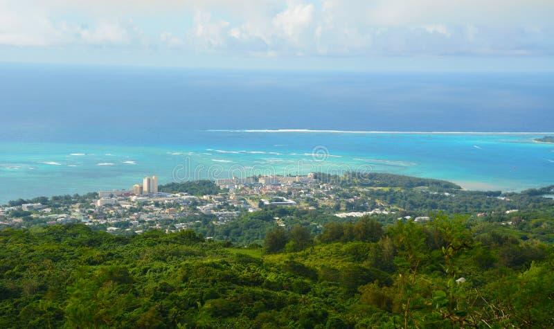 Saipaneiland stock fotografie