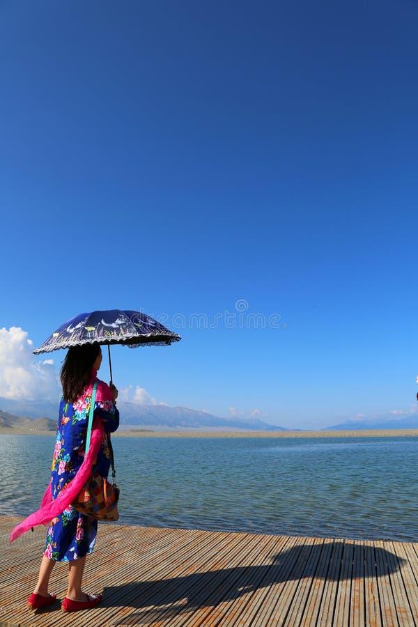 Sairam Nor Chiny Xinjiang, zdjęcie royalty free