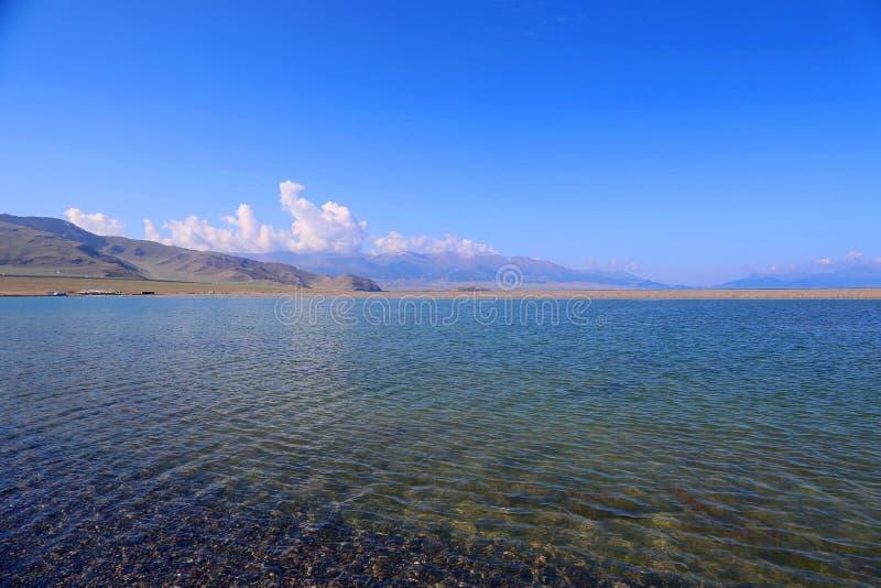 Sairam ni, Xinjiang, China imágenes de archivo libres de regalías