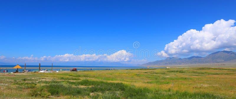 Sairam ni, Xinjiang, China imagen de archivo libre de regalías