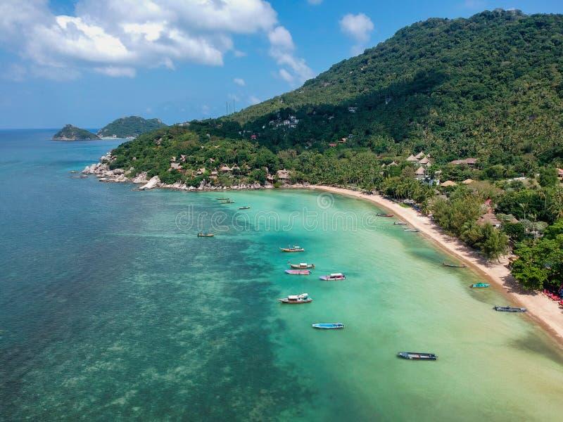 Sairee plaża, Koh Tao obrazy stock