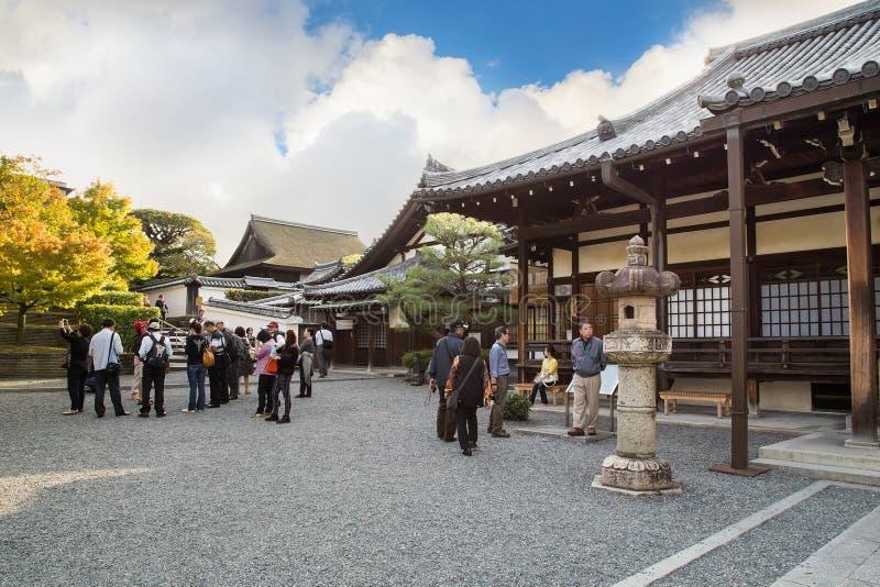 Saisho-en, en el templo de Byodpin en Kyoto imágenes de archivo libres de regalías