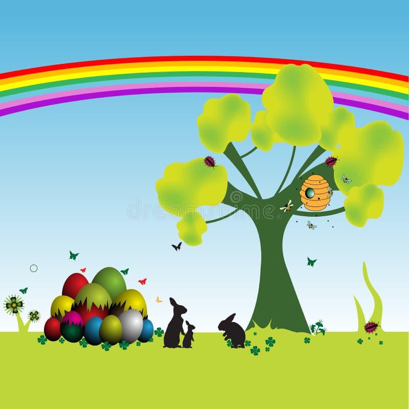 Saison de Pâques illustration stock