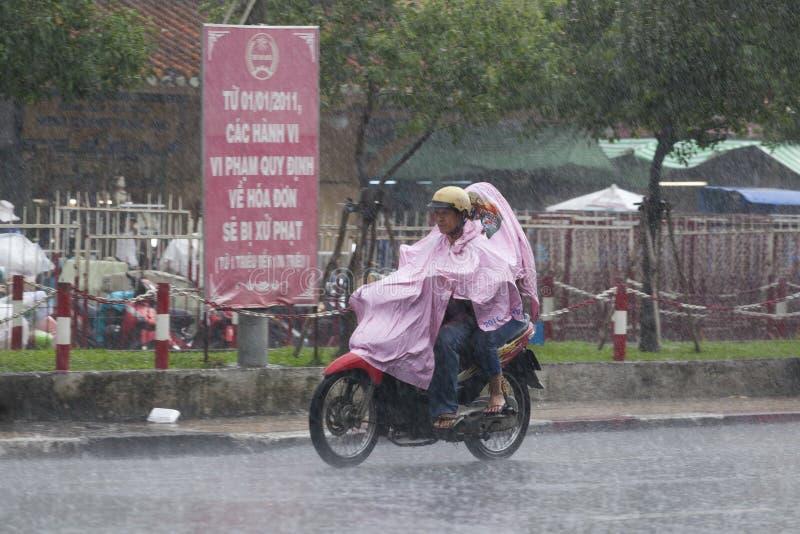 Saison de pluie au Vietnam, Asie du Sud-Est photos stock