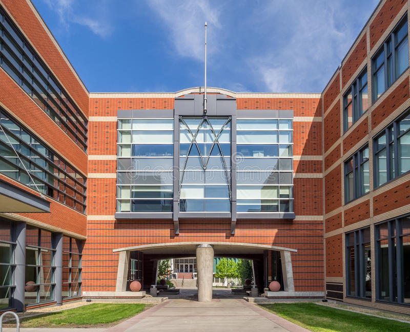 SAIT Polytechnic school buildings royalty free stock images