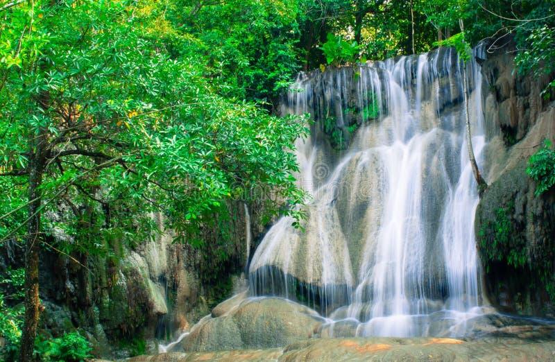 Saiyoknoi Water Fall. stock photo