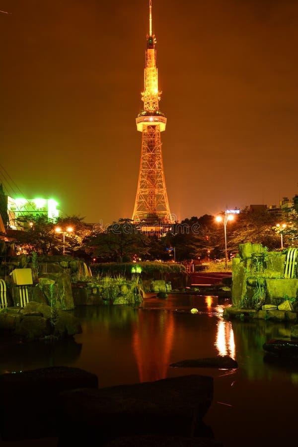Sakae tower stock photography