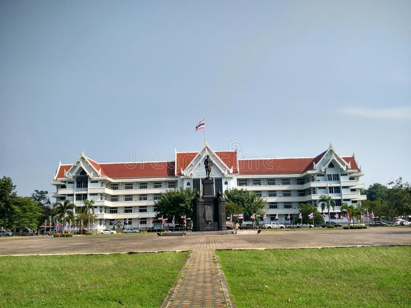 Sakaeo Provincial Government Office stock photo