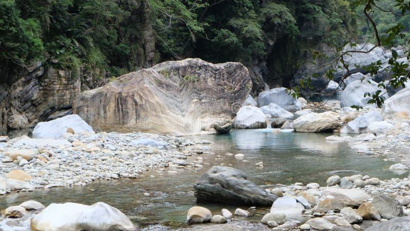 Sakatang ślad, TAROKO park narodowy obraz stock