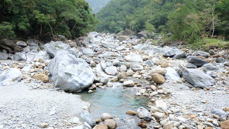 Sakatang ślad, TAROKO park narodowy zdjęcie stock