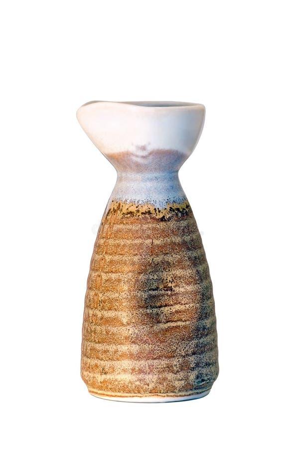Sake bottle royalty free stock image