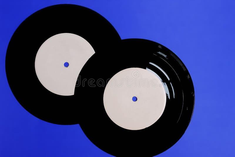 sakkunnig för grammofonrekord för musikteman arkivbilder