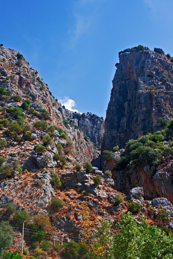 Download Saklikent Gorge, Turkey stock image. Image of rocks, environment - 35293043