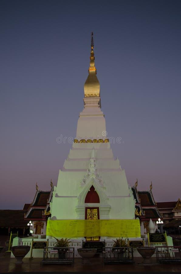 Sakonnakorn Thaïlande de pagoda photographie stock