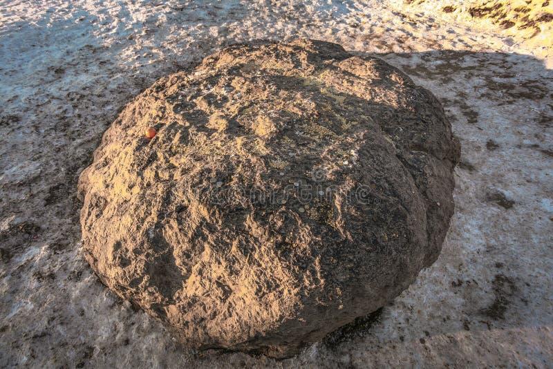 Sakral blå sten arkivbilder